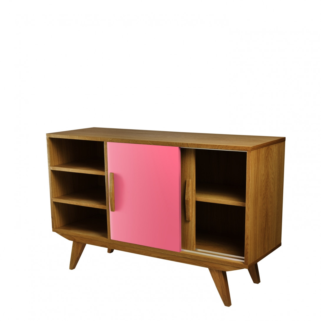Cabinet PRL BIG pink dark brown FUR0203 - gie el
