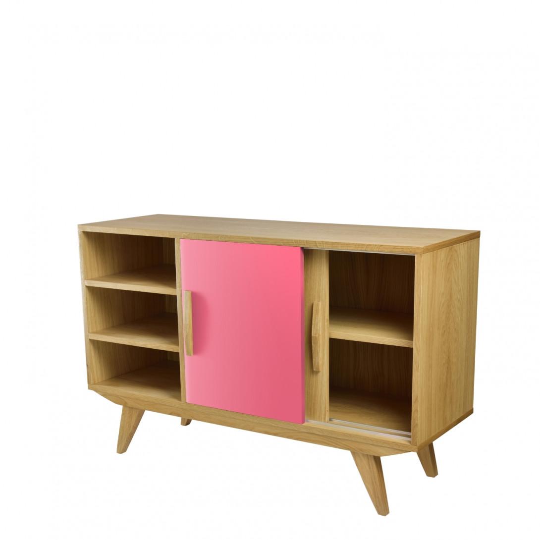 Cabinet PRL BIG pink brown FUR0193
