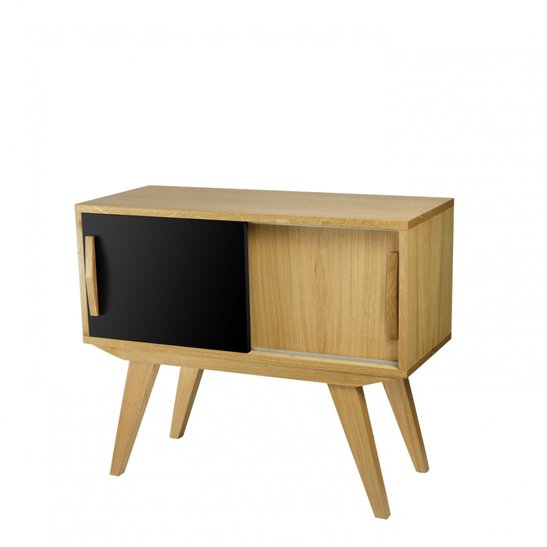 Cabinet PRL black brown FUR0211