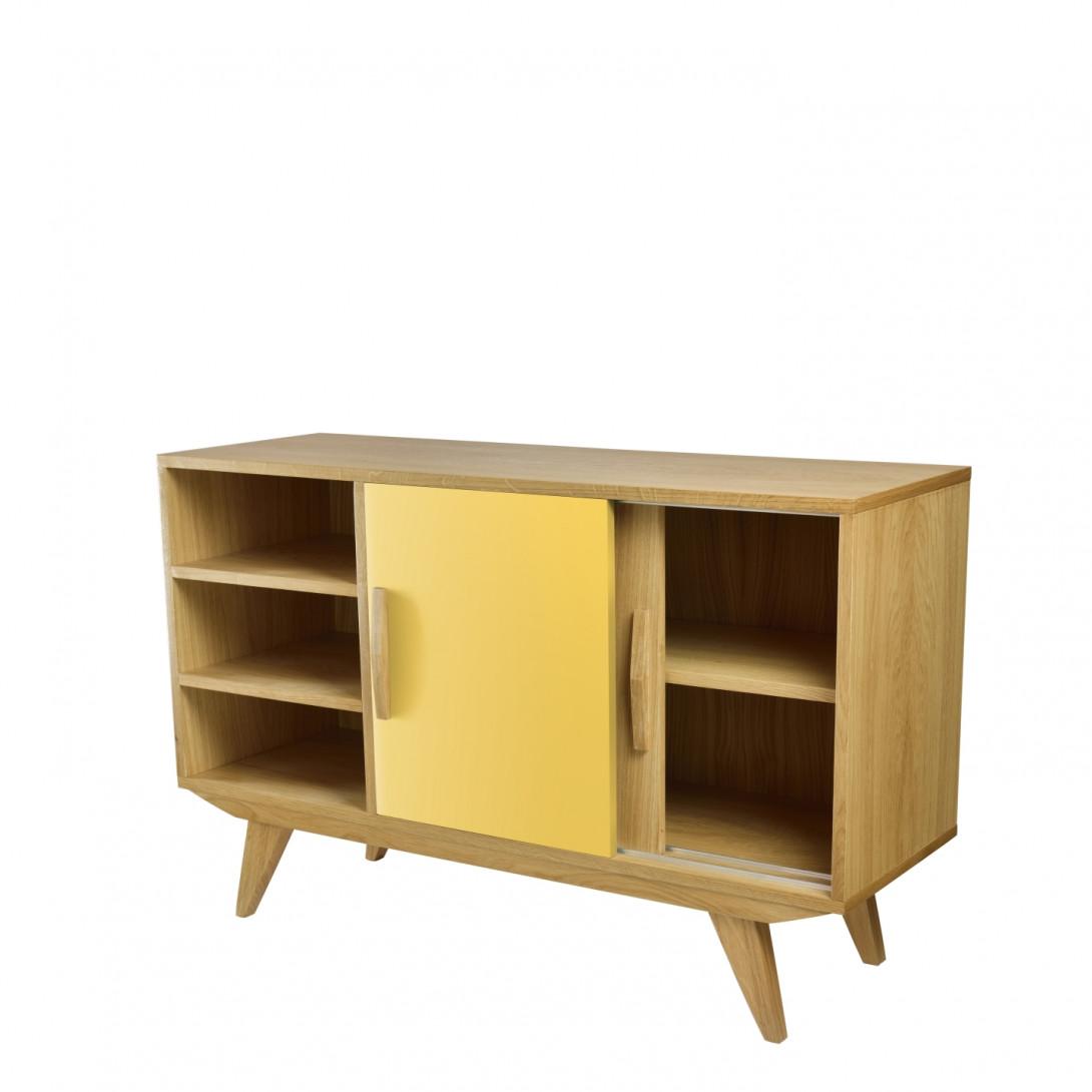 Cabinet PRL BIG yellow brown FUR0194