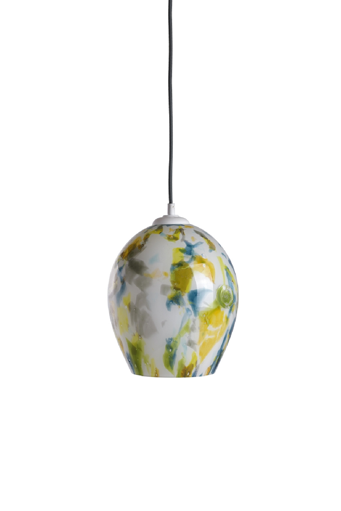 Glass pendant lamp SPACE II LGH0574