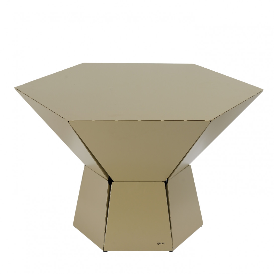 Coffee table HEXA IV champagne FCT0350
