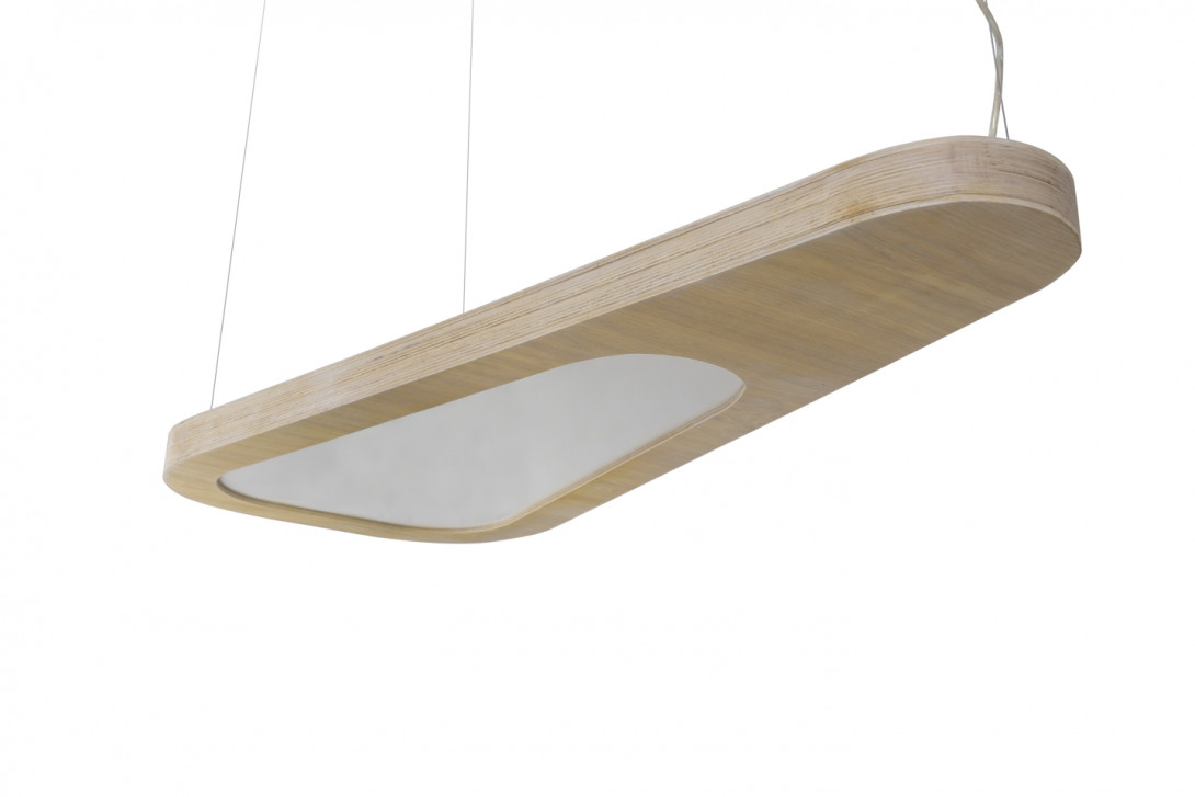 Pendant lamp AVOCADO white LGH0651 - gie el