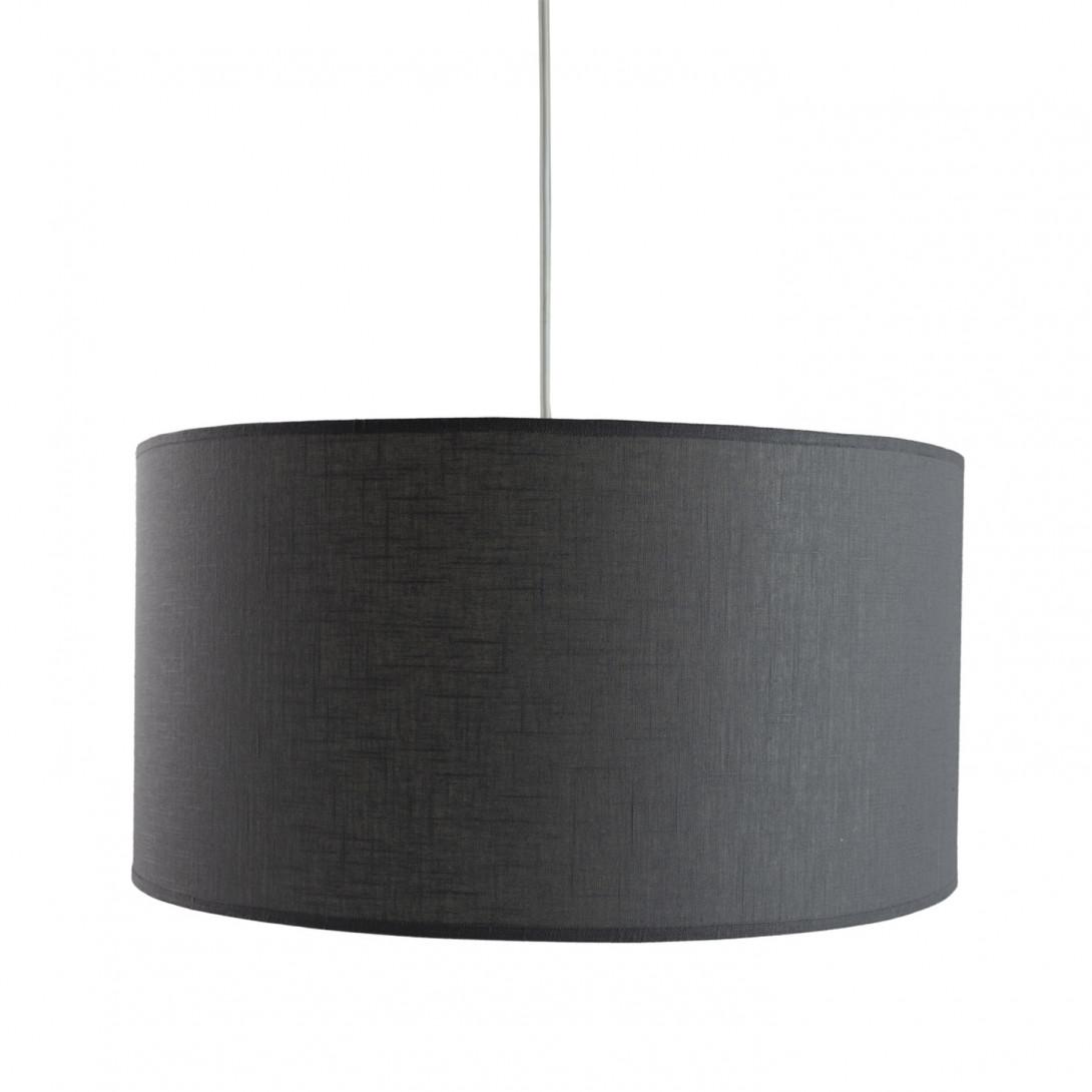 Textile pendant lamp PIANO II LGH0500 gray