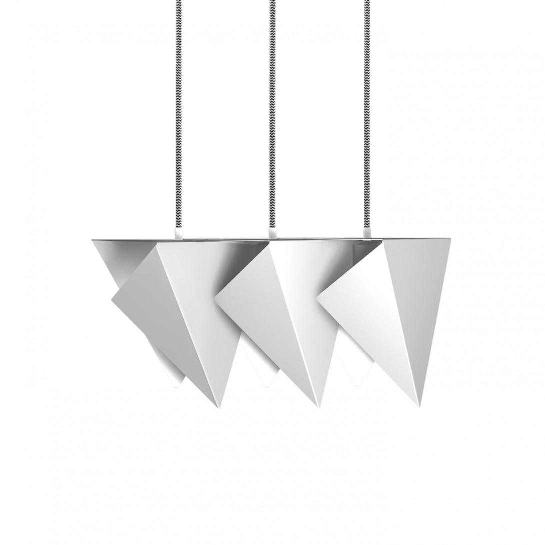 Steel pendant lamp TRIO white LGH0771 - gie el