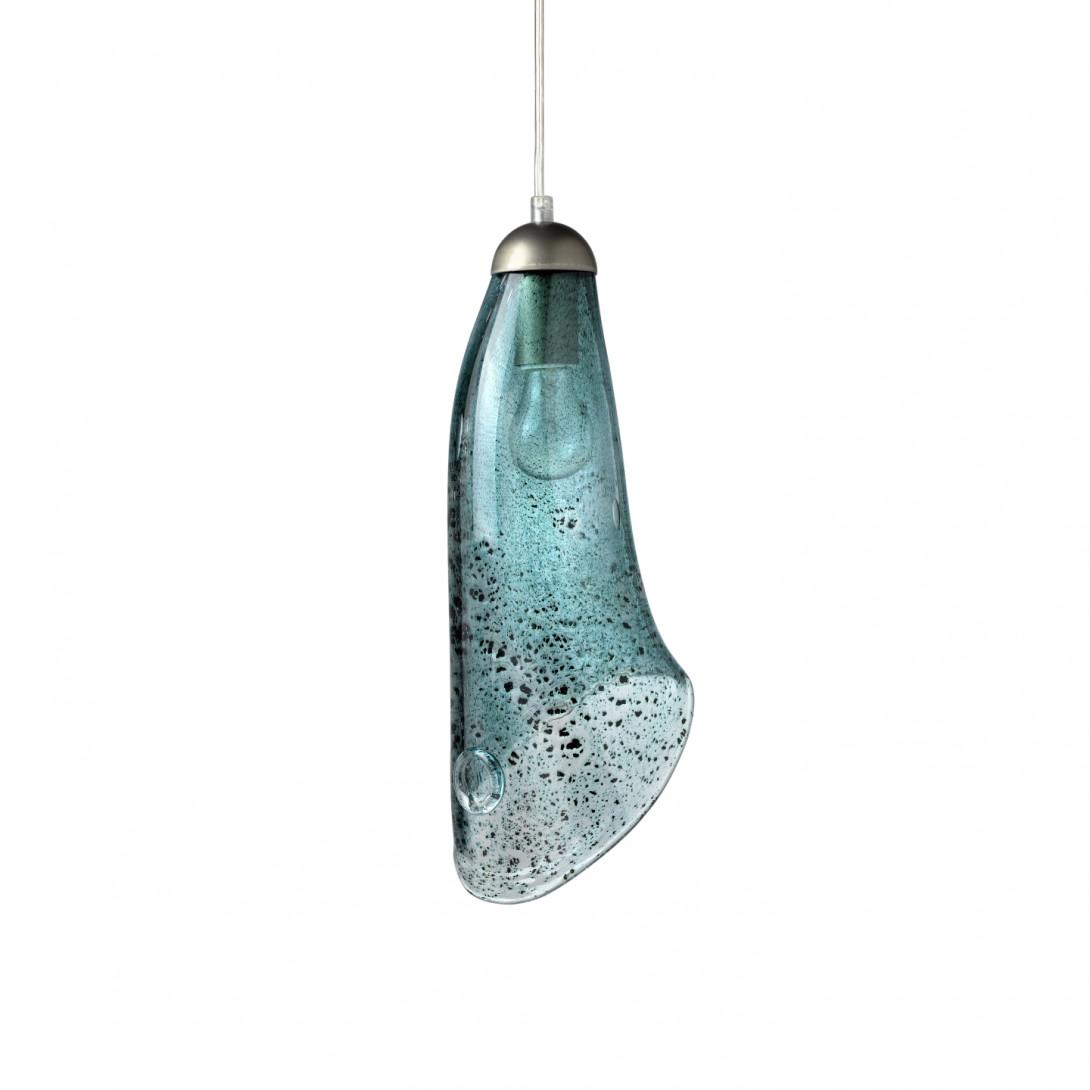 Lampa wisząca HORN turkusowa LGH0264