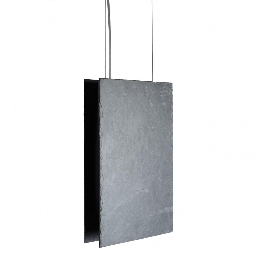 Slate pendant lamp PLATE II LGH0600