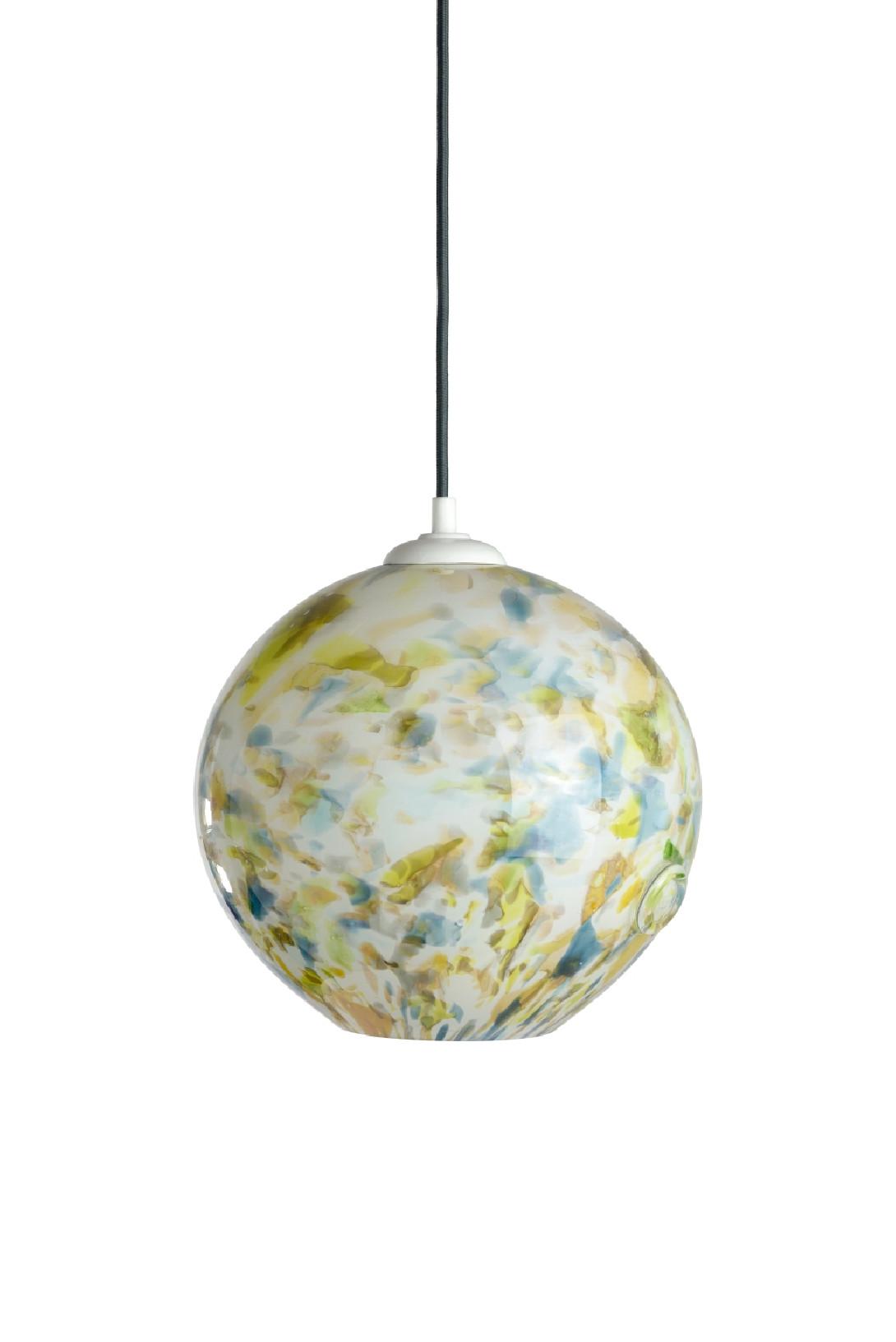 Glass pendant lamp GALAXY III LGH0570
