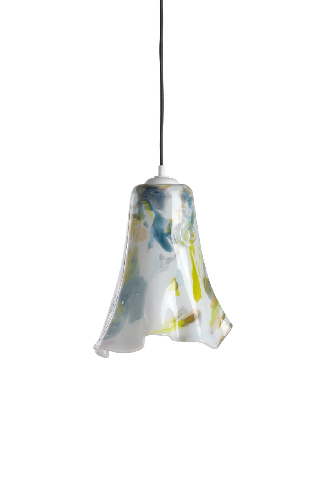 Glass pendant lamp LAVA II LGH0572