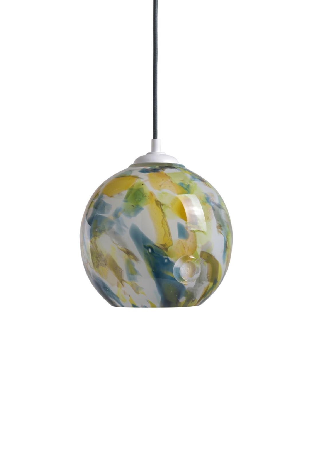 Glass pendant lamp GALAXY III LGH0571