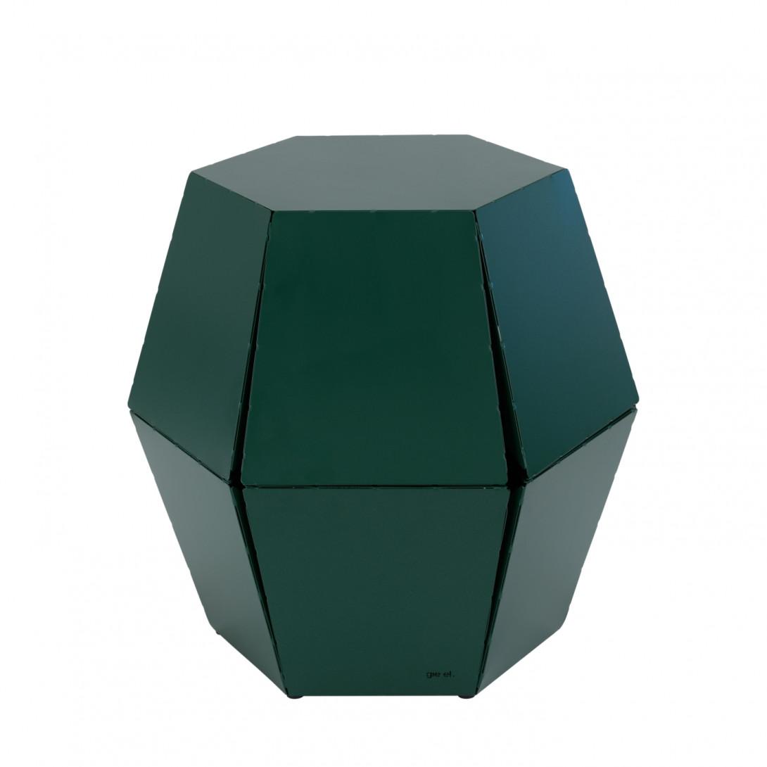 Stolik pomocniczy HEXA I zielony FCT0321