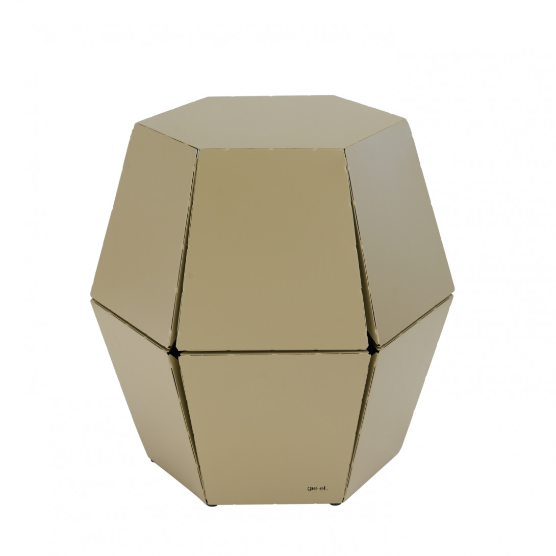 Side table HEXA I champagne FCT0320 - gie el