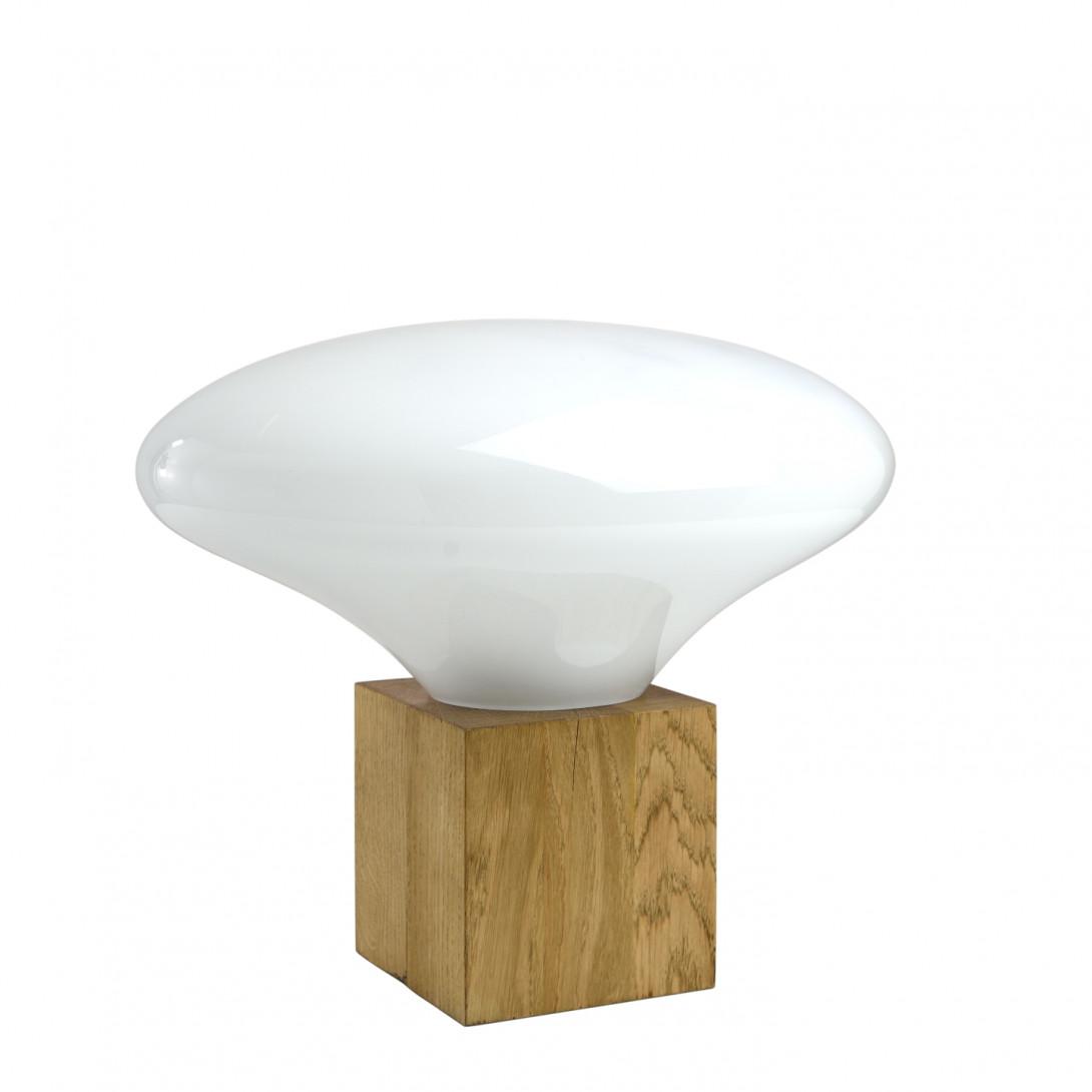 Lampa stołowa COCOON biała LGH0614