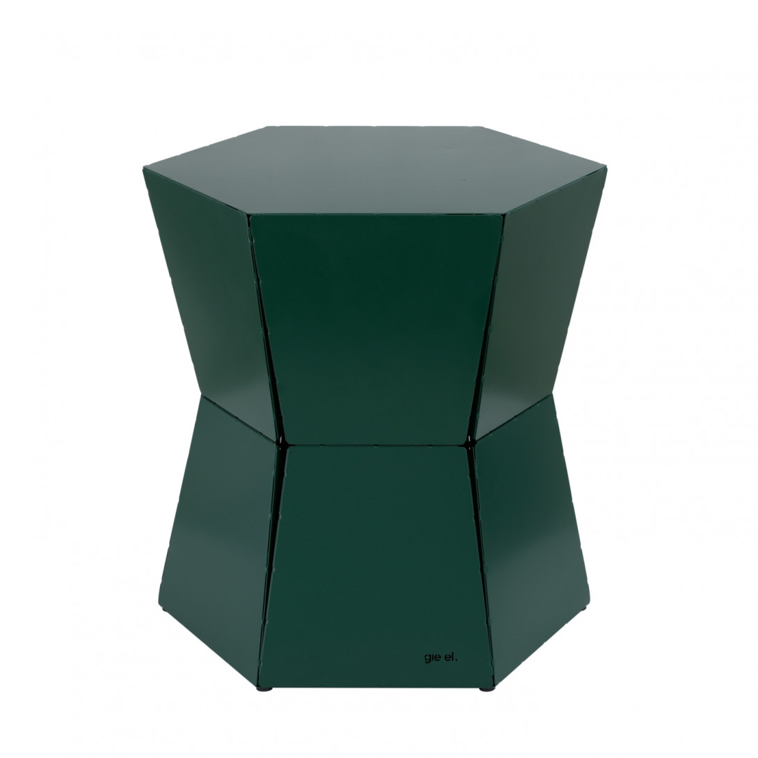 Side table HEXA II green FCT0331
