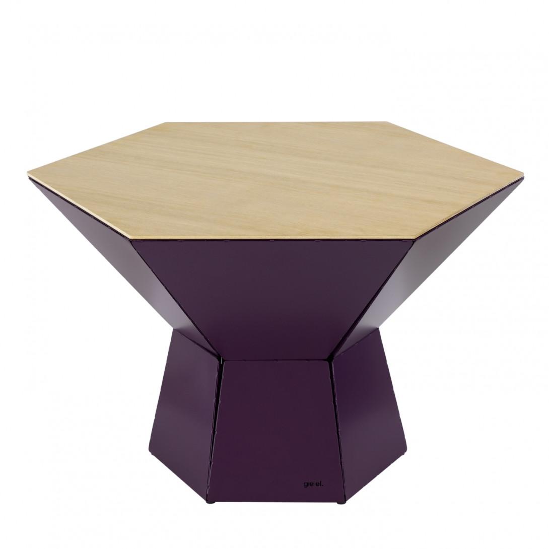 Coffee table HEXA IV plum FCT0352 / FCT0355 - gie el