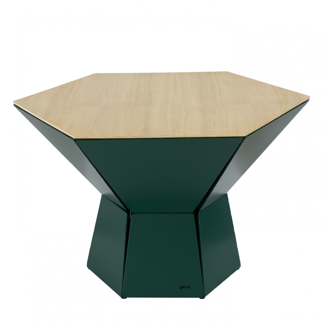 Coffee table HEXA IV green FCT0354 - gie el