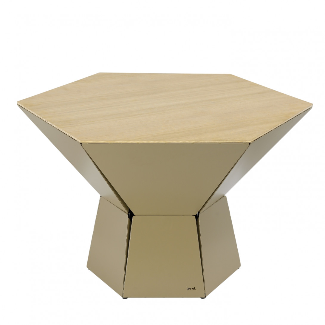 Coffee table HEXA IV champagne FCT0353