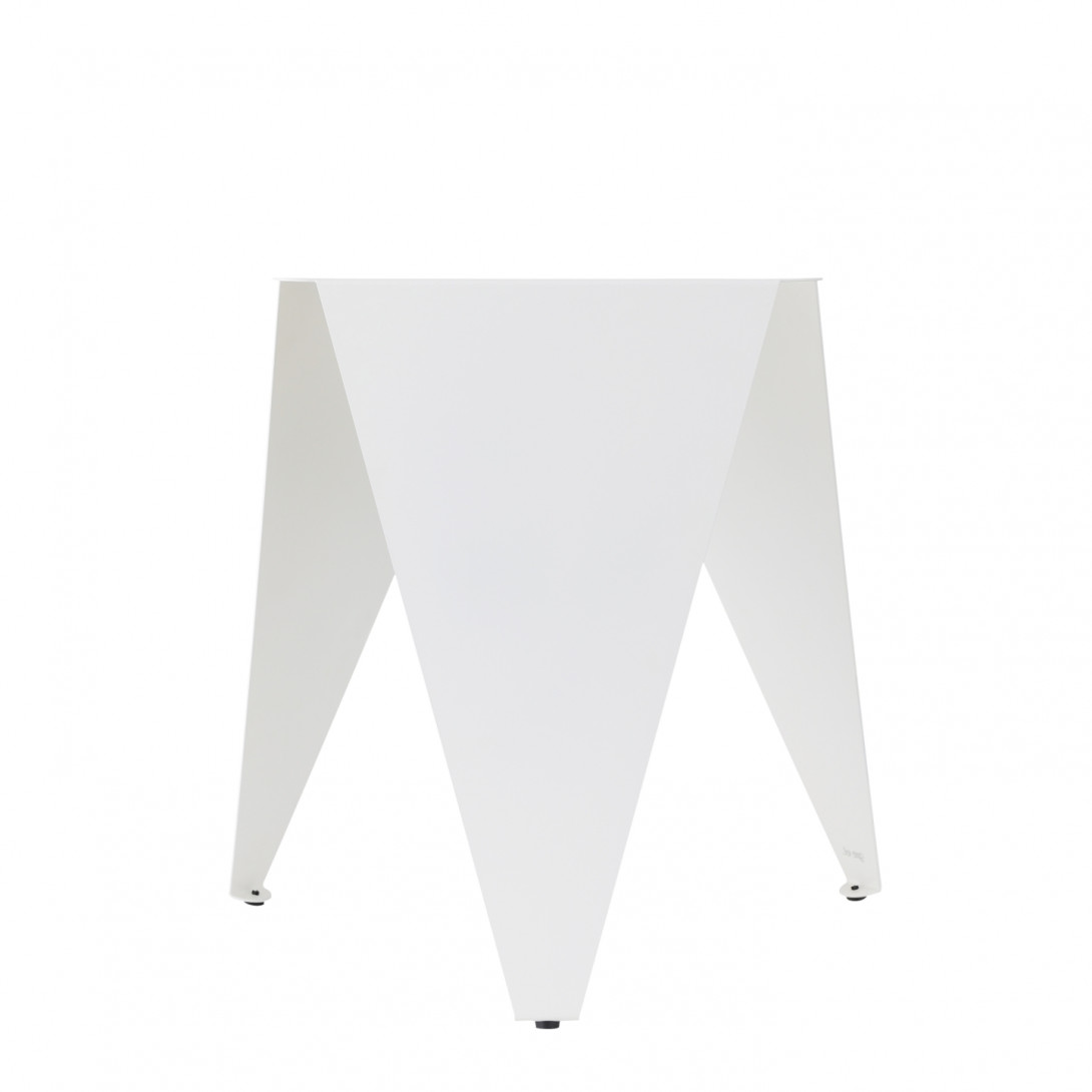 Side table BUDDY white FCT0371