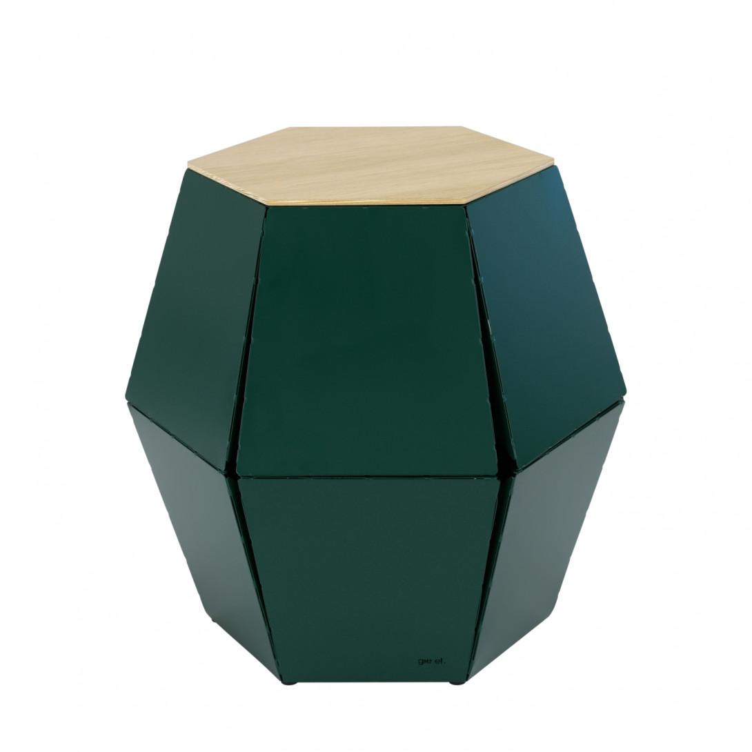Stolik pomocniczy HEXA I zielony FCT0324