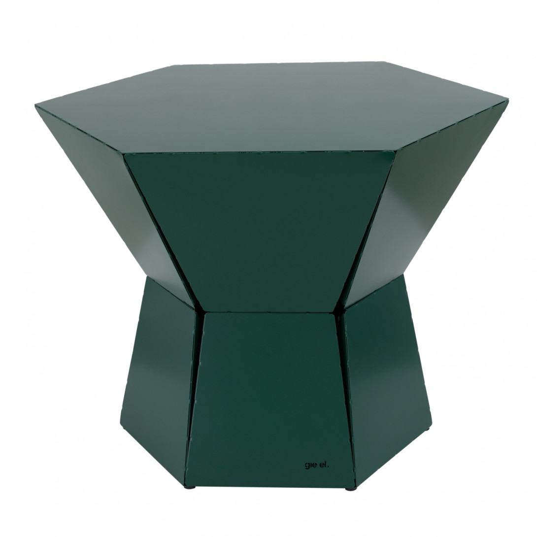 HEXA III coffee table in green FCT0341