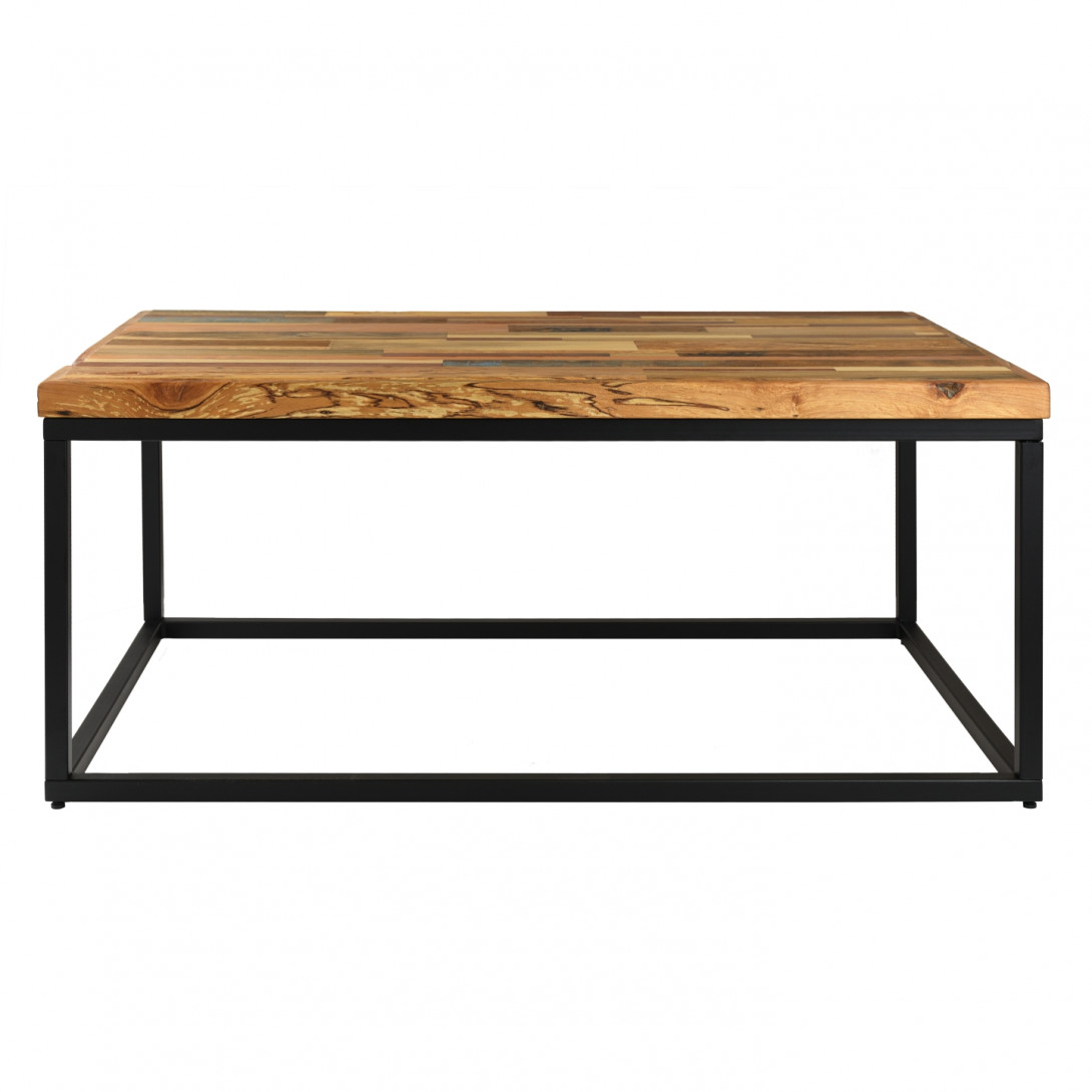 Coffee table PATCHWORK A-I black frame FCT0230