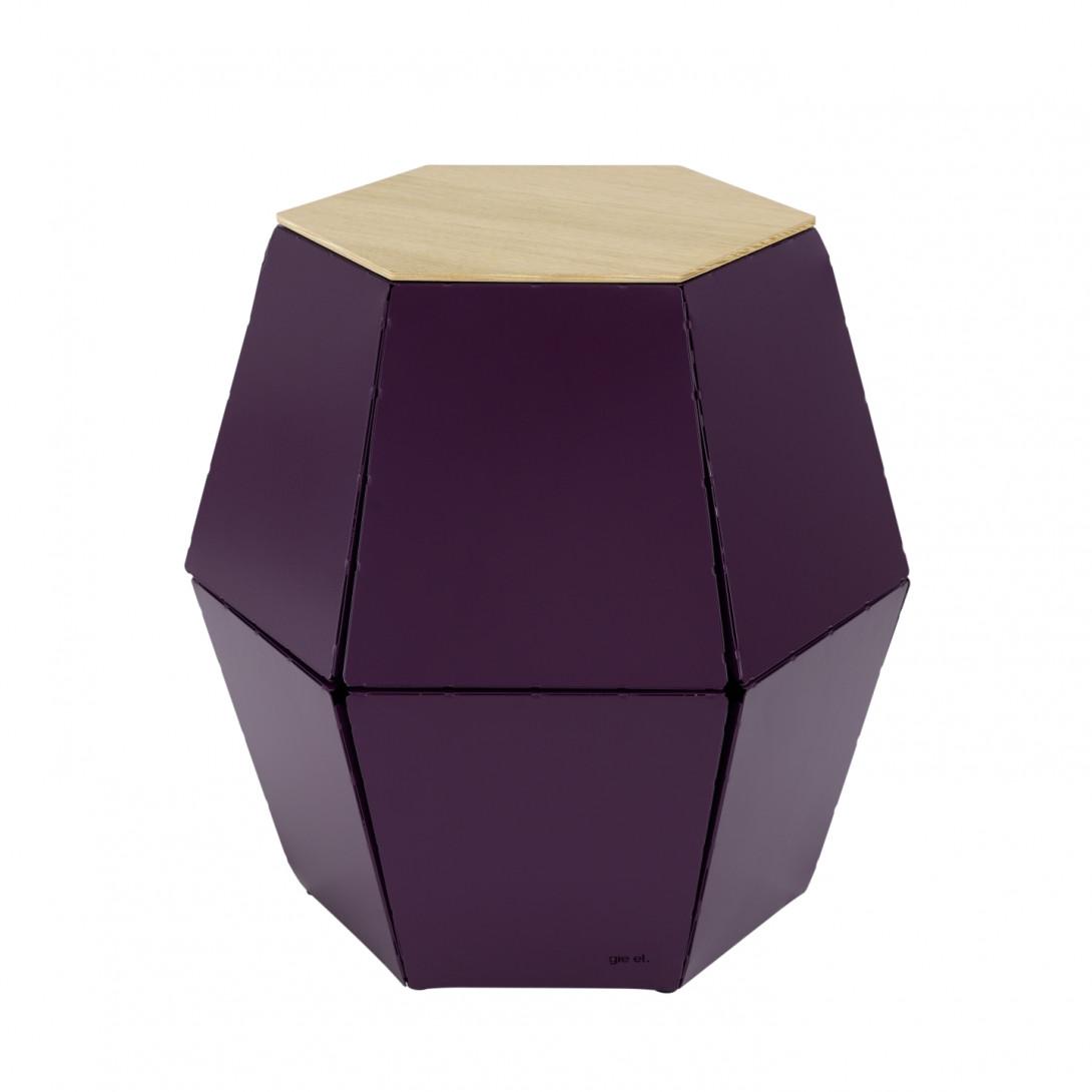 Side table HEXA I plum FCT0325