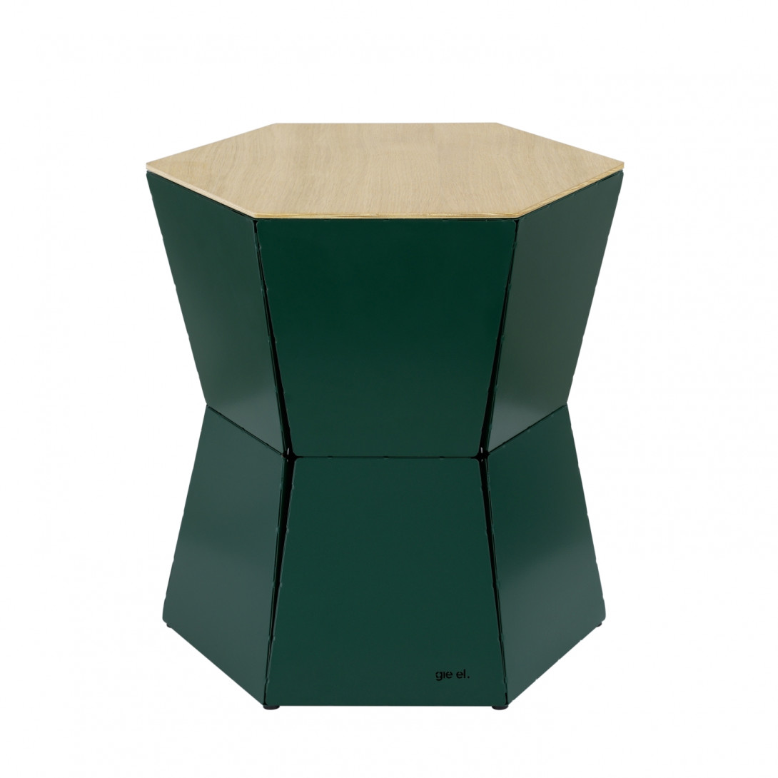 Side table HEXA II green FCT0334