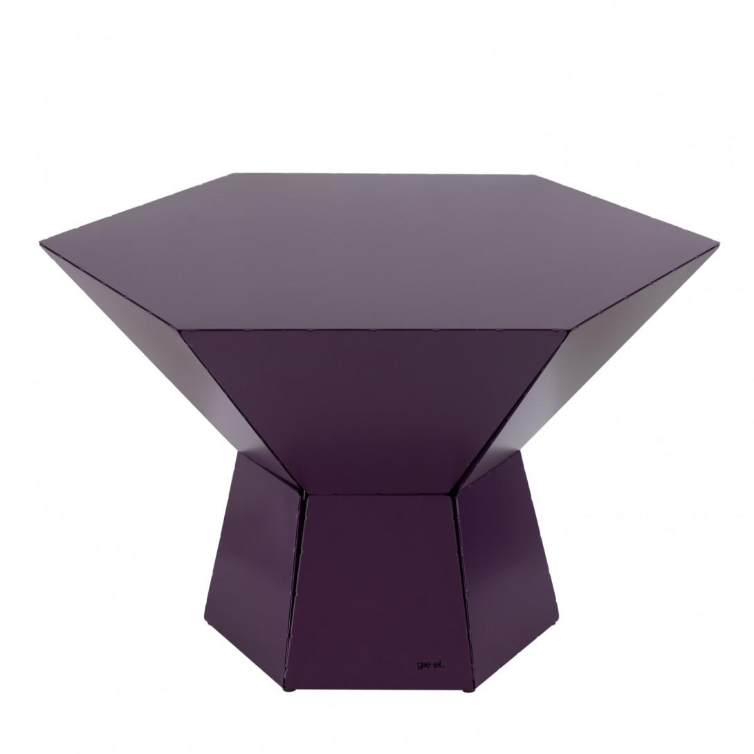 Coffee table HEXA IV plum FCT0352