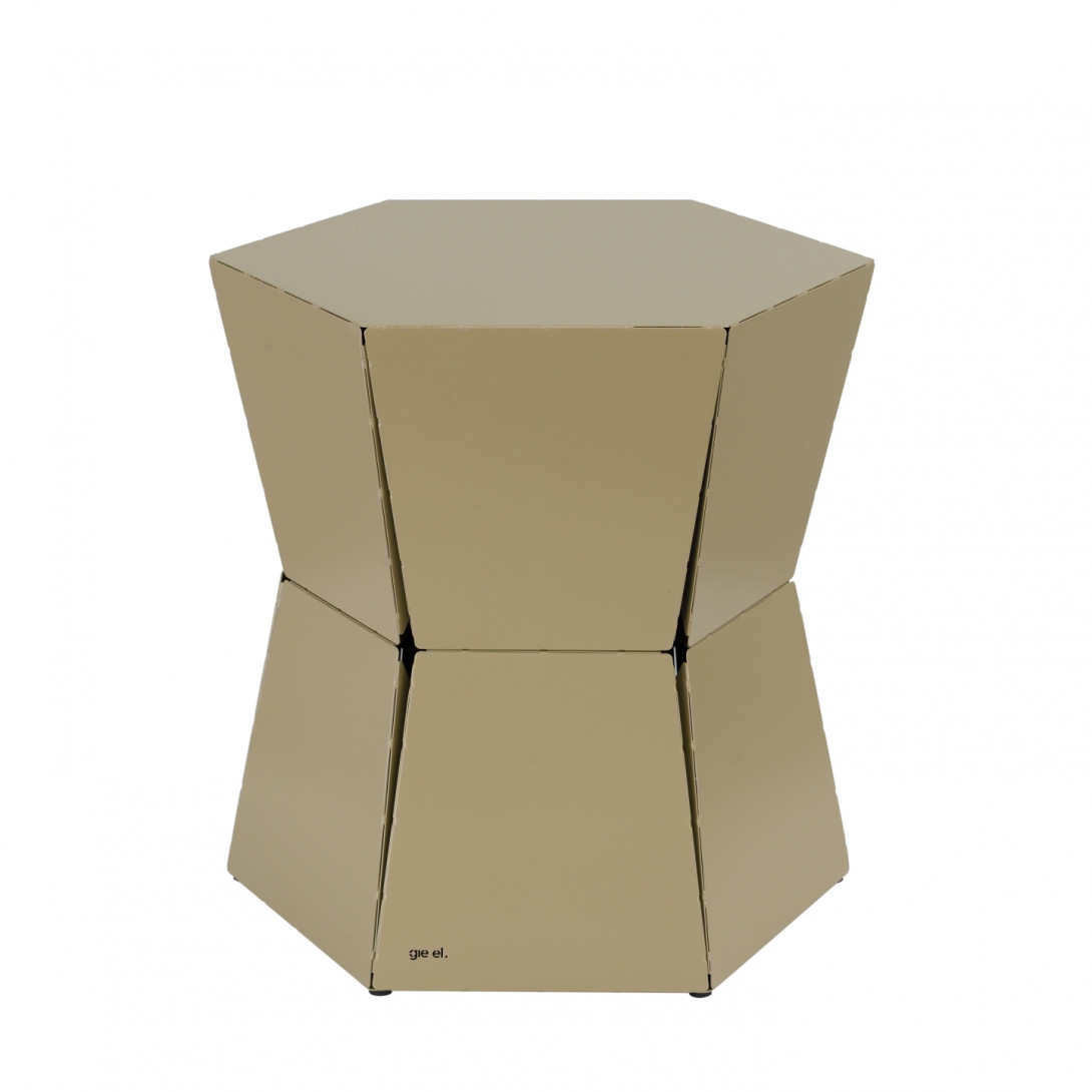 Side table HEXA II champagne FCT0330 - gie el