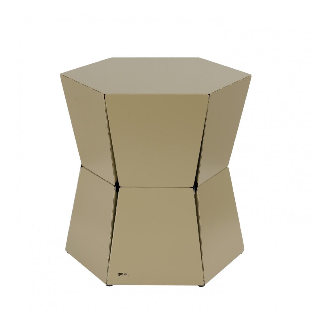 Stolik pomocniczy HEXA II szampański FCT0330
