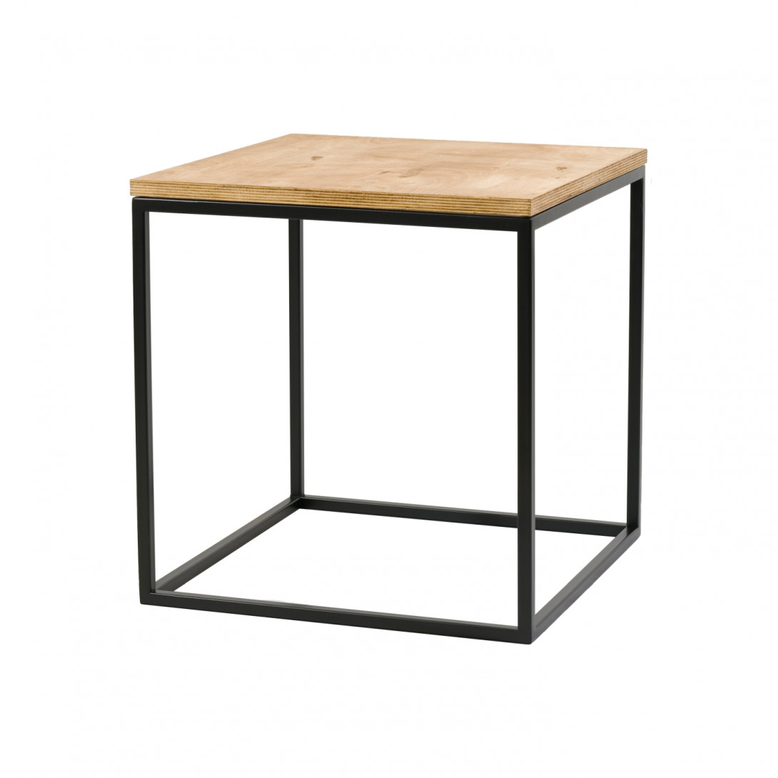 Coffee table TEA A-2 black frame FCT0211