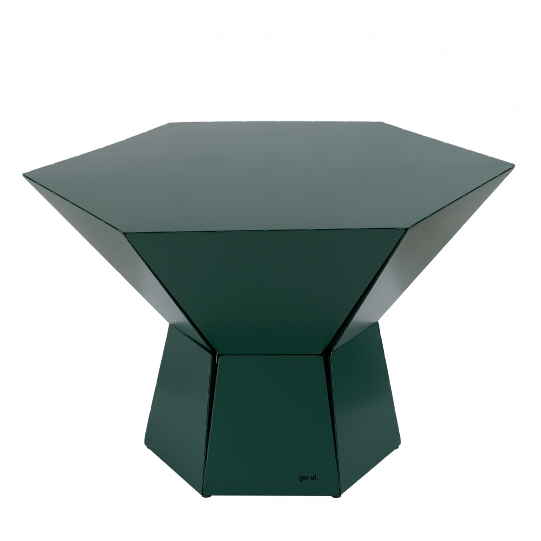 Stolik kawowy HEXA IV zielony FCT0351