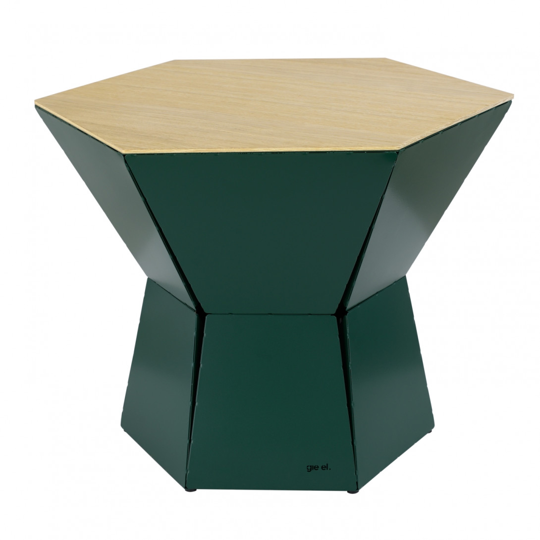 HEXA III coffee table in green FCT0344