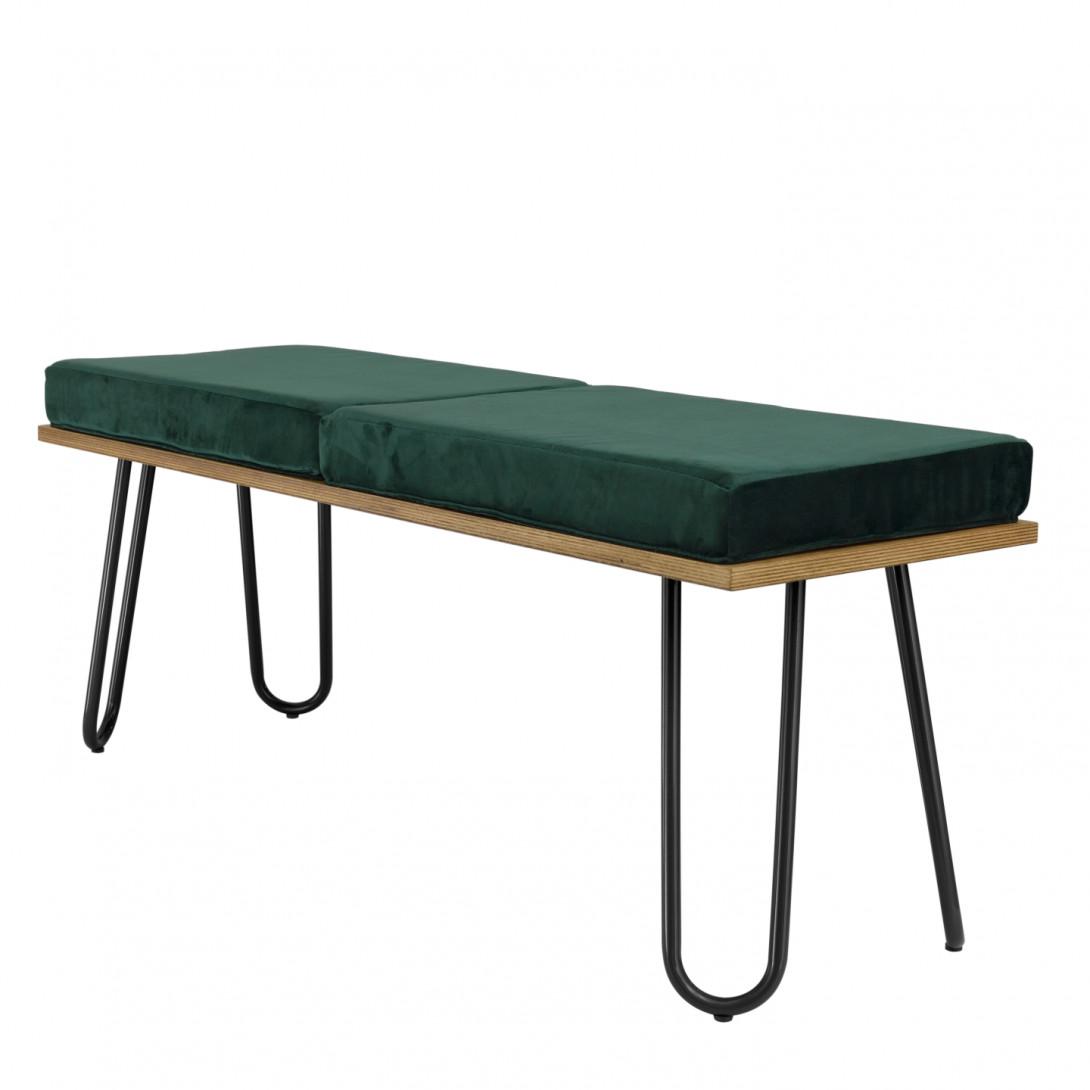 CORGI bench in green&black FST0253