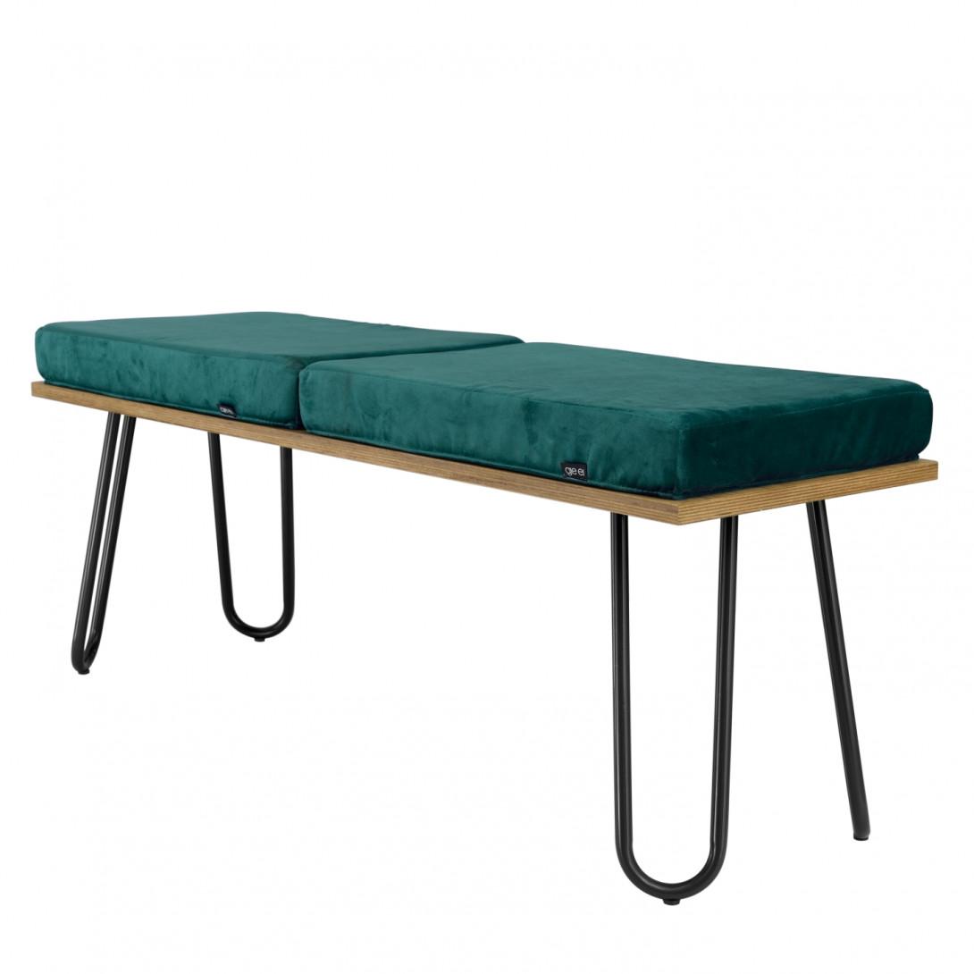 CORGI bench in turquoise&black FST0254