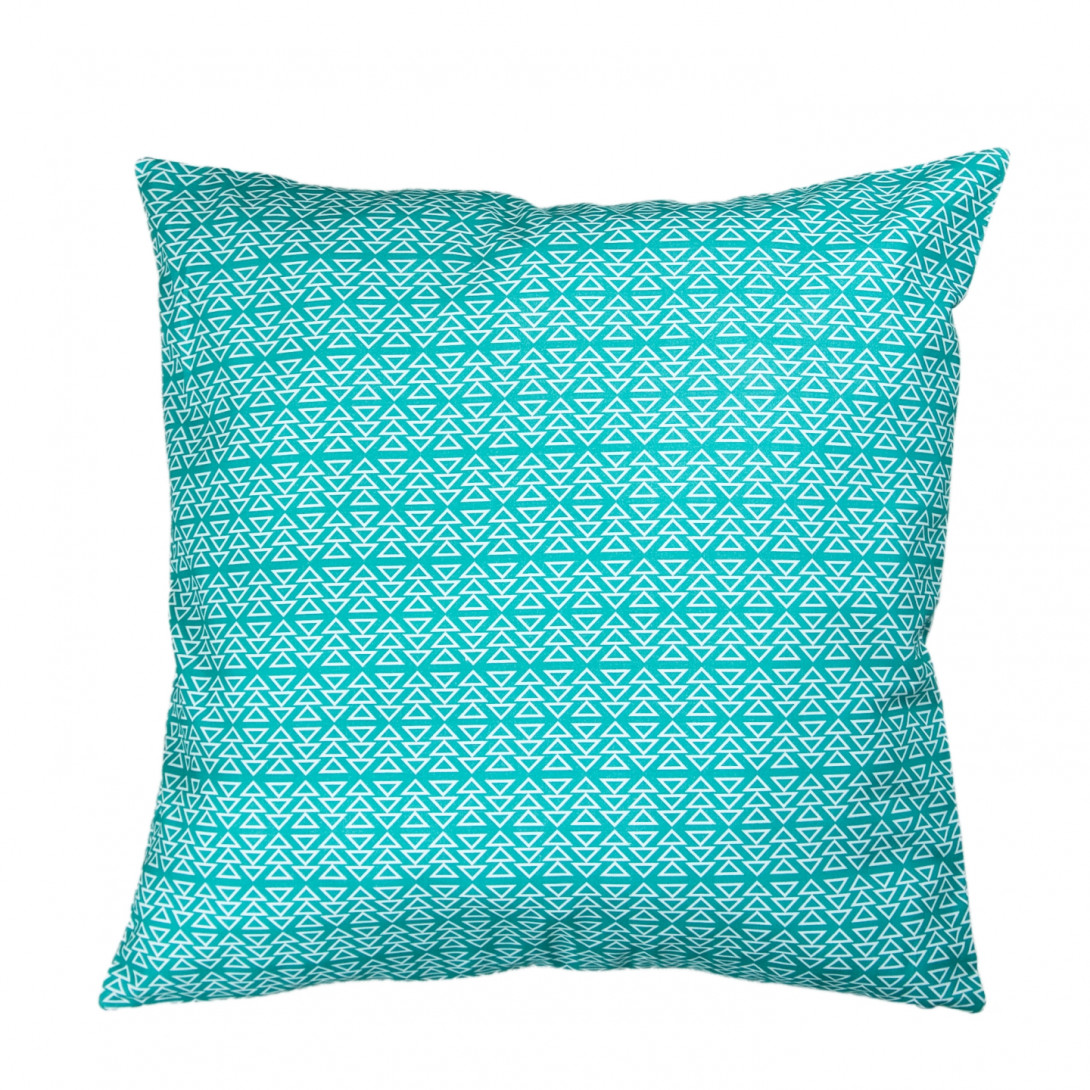 Decorative cushion PATTERN II turquoise APL0120 - gie el