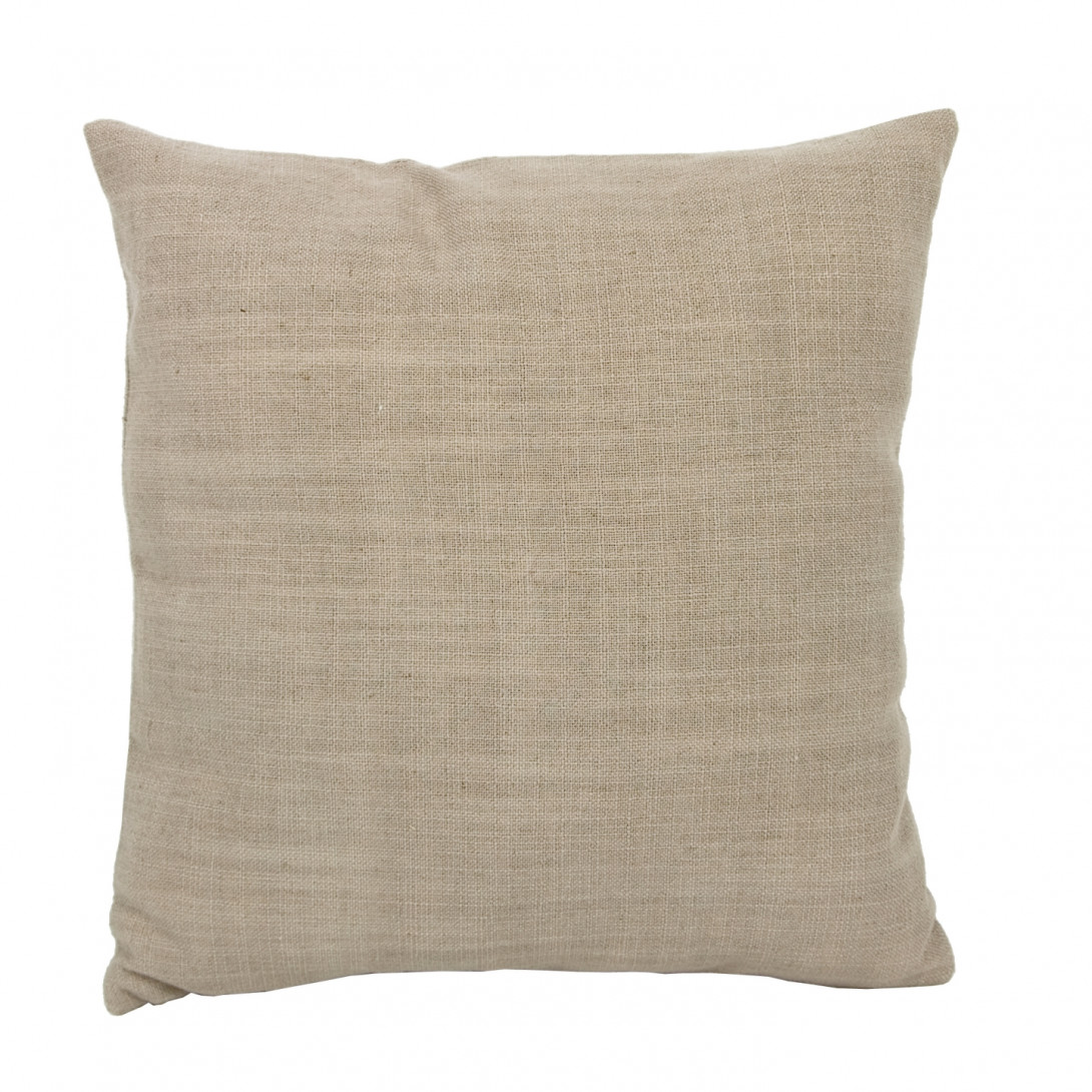 Decorative linen cushion PIXEL beige APL0060