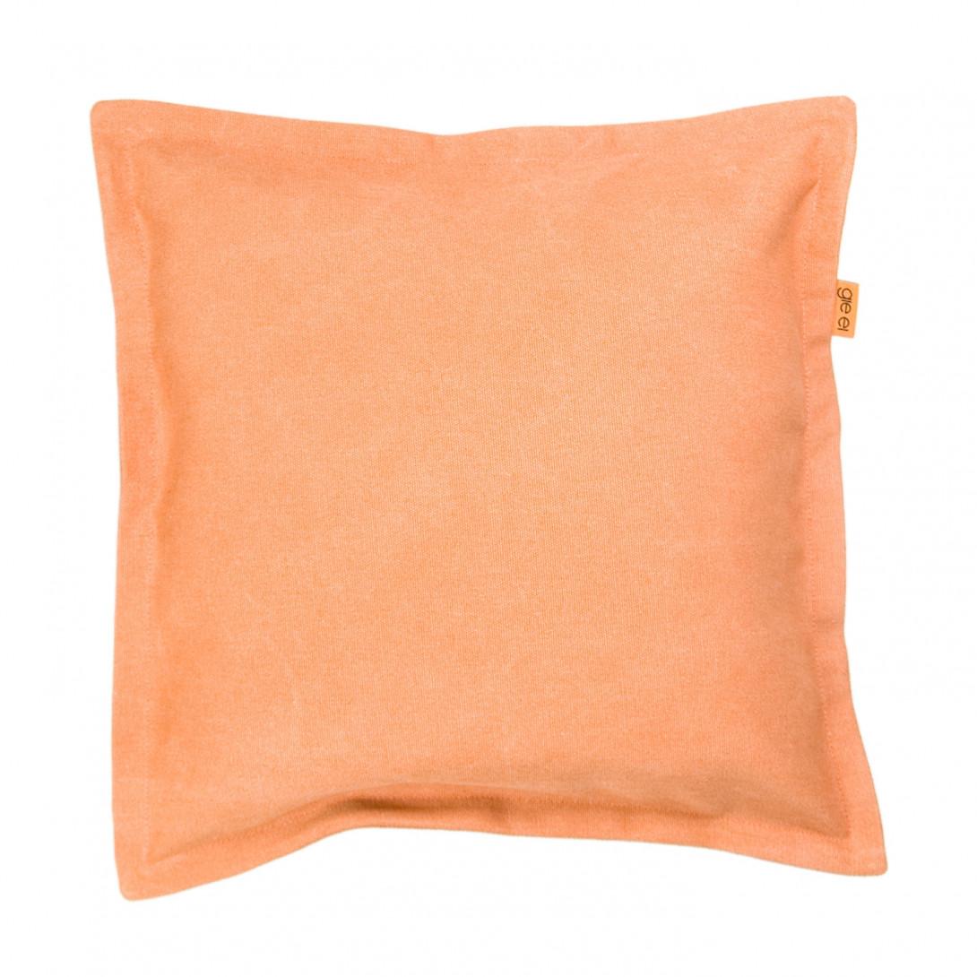 Poduszka dekoracyjna JEANS pomarańczowa APL0112