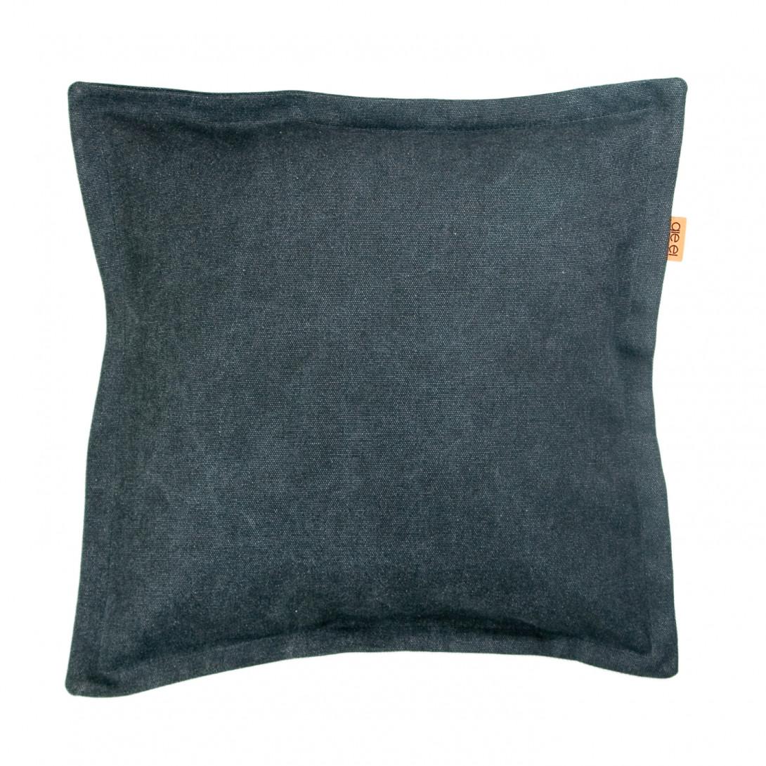 Poduszka dekoracyjna JEANS czarna APL0110