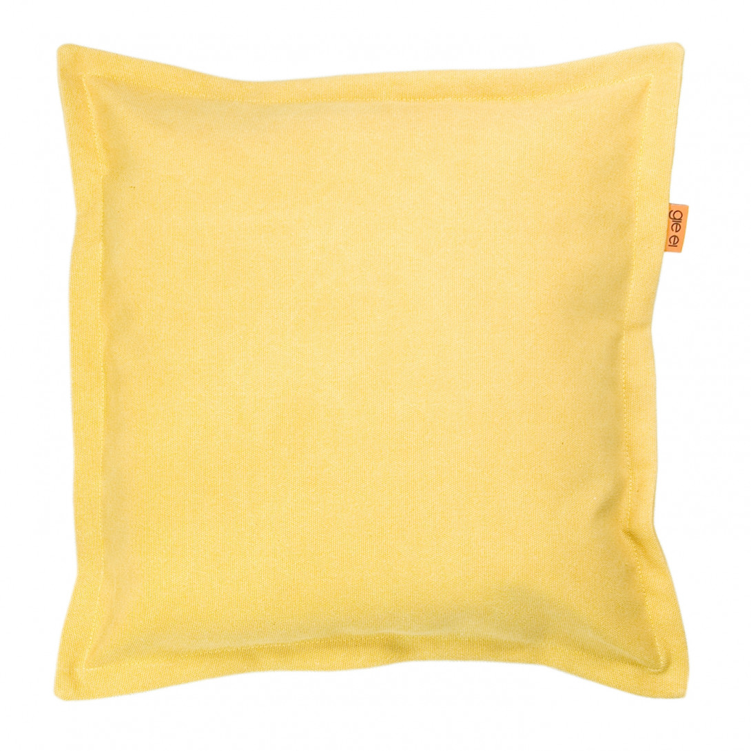 Decorative cushion JEANS yellow APL0113