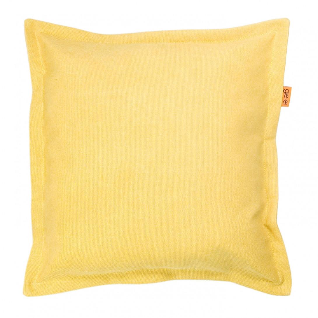 Poduszka dekoracyjna JEANS żółta APL0113 - gie el