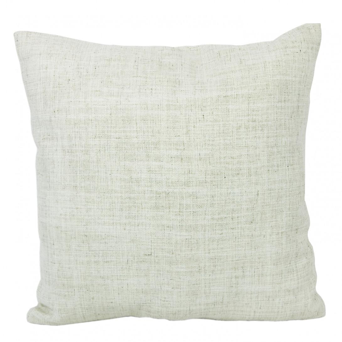 Decorative linen cushion PIXEL ecru APL0062 - gie el