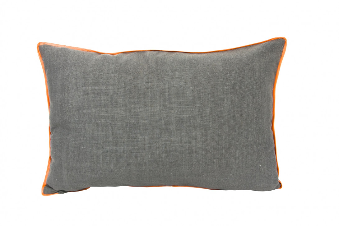 Decorative cushion with orange trimming LINE APL0091 - gie el