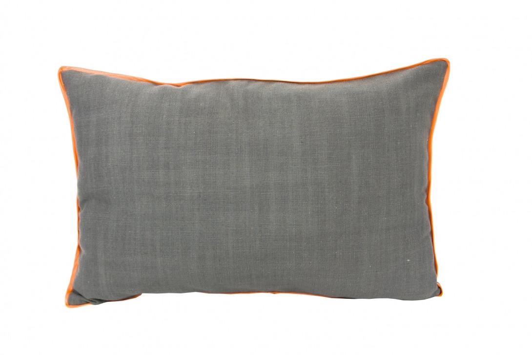 Poduszka z pomarańczową lamówką LINE APL0091 - gie el