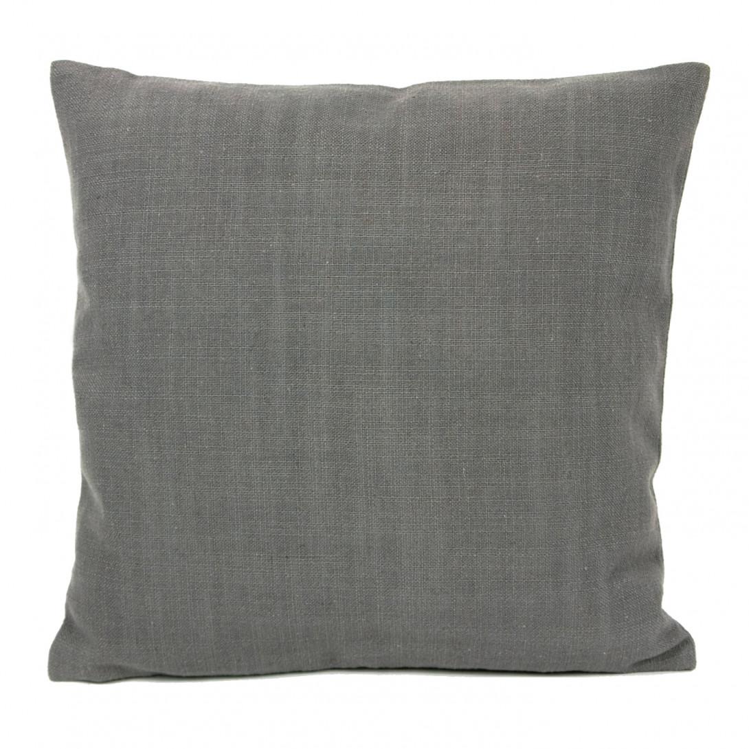 Decorative linen cushion PIXEL gray APL0061