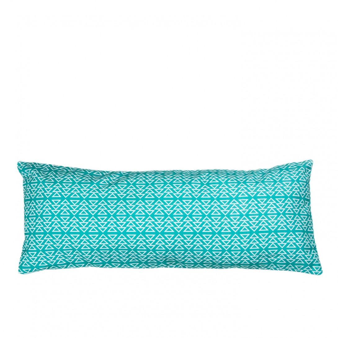 Poduszka dekoracyjna geometryczna PATTERN I turkusowa APL0130