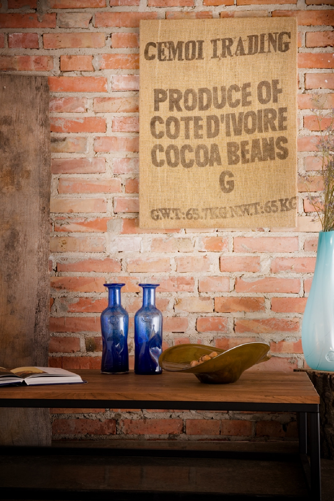 Wall decoration COCOA BEANS APC0030
