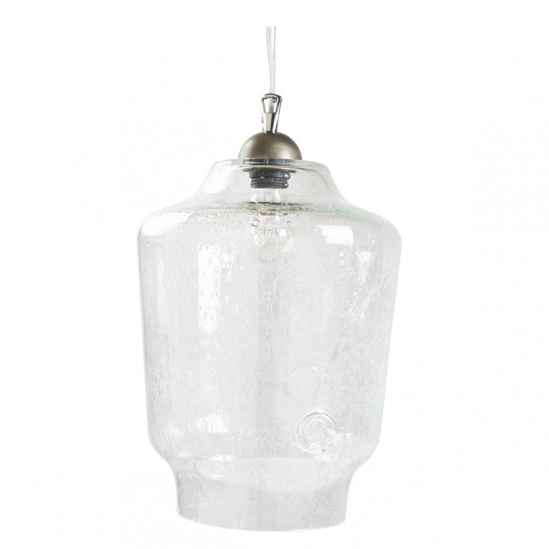 Glass pendant lamp BEE LGH0490 transparent
