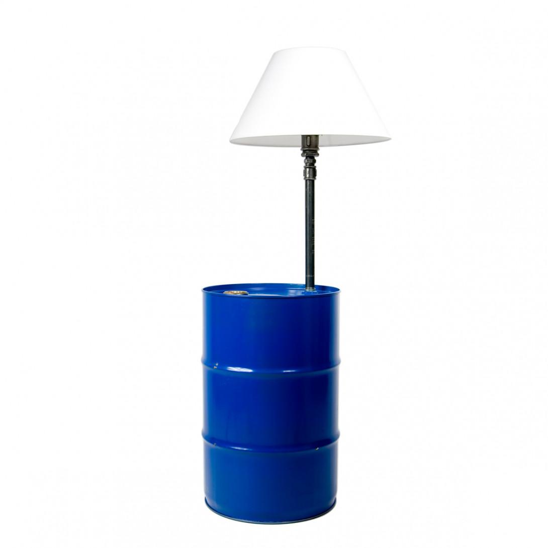 BARREL floor lamp in blue LGH0150