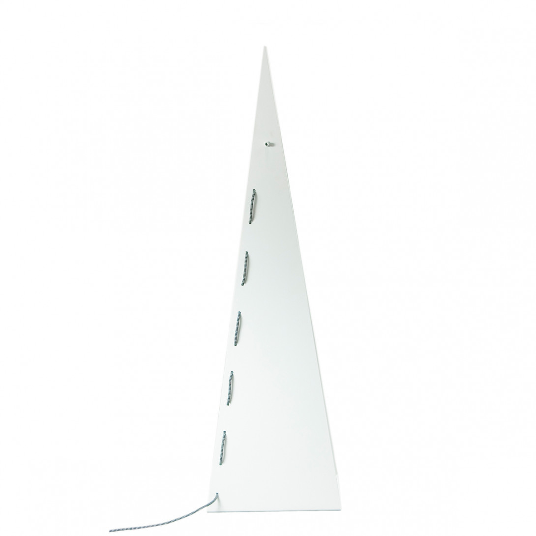 Steel floor lamp ARROW BIG white LGH0351